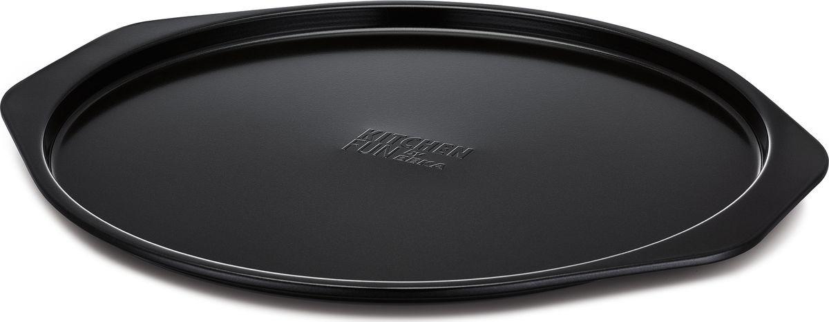 Форма для выпечки пиццы Beka, цвет: черный. Диаметр 30 см. 13880305 форма для пиццы dr oetker comfort круглая с антипригарным покрытием цвет серый диаметр 30 см