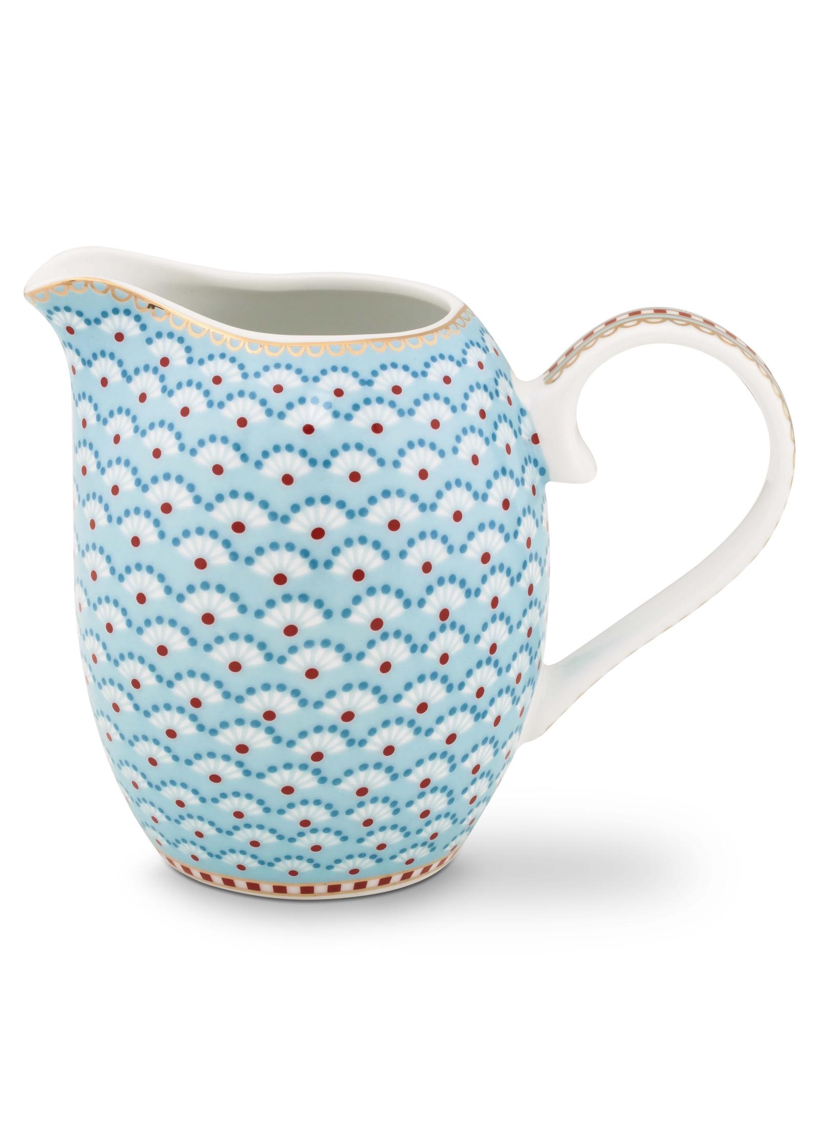 Молочник Pip Studio Floral, цвет: голубой. 51.007.030