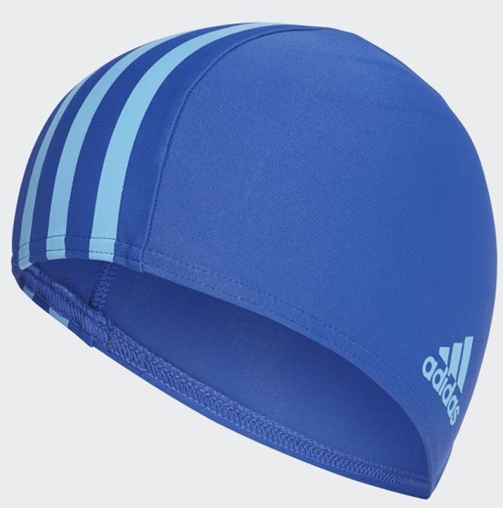 Шапочка для плавания Adidas Infinitex, цвет: синий цена