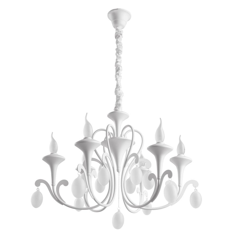 Люстра Arte Lamp Montmartre, A3239LM-6WH, белый подвесная люстра arte lamp montmartre a3239lm 12wh