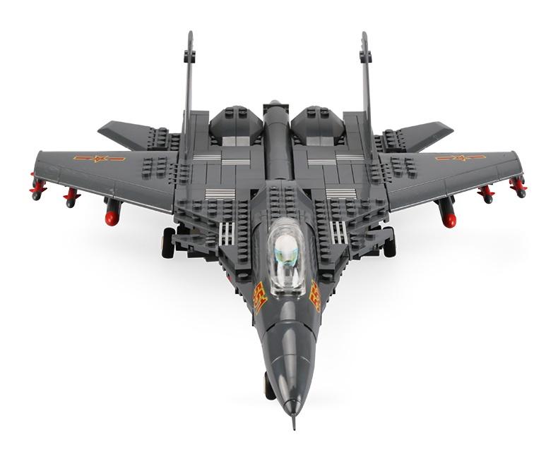 Пластиковый конструктор Wange Legion. Истребитель J15