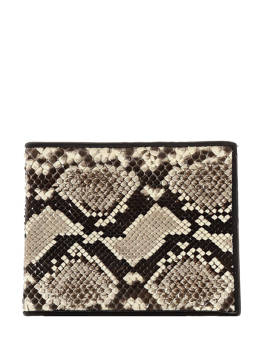 Кошелек ExoticLux 6355000, коричневый, бежевый цены онлайн