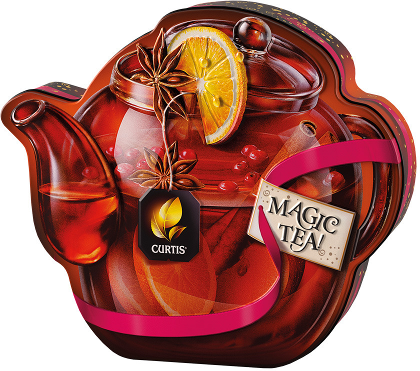 Чай черный листовой Curtis Drink Me! Winter Wine Teapot, 70 г цена 2017