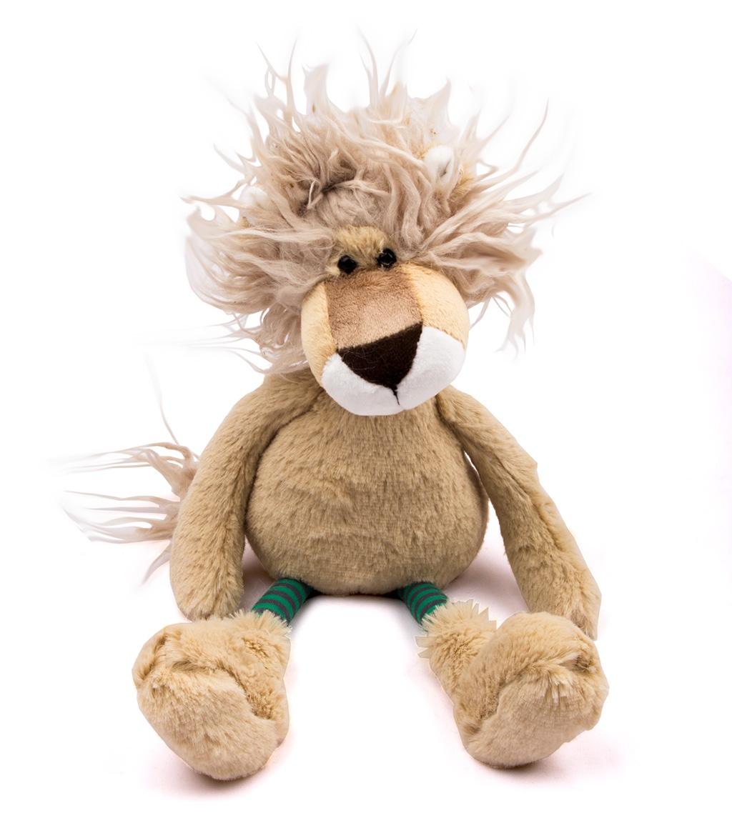Мягкая игрушка M&R Toy Львенок Локки бежевый мягкая игрушка infantino милый львенок