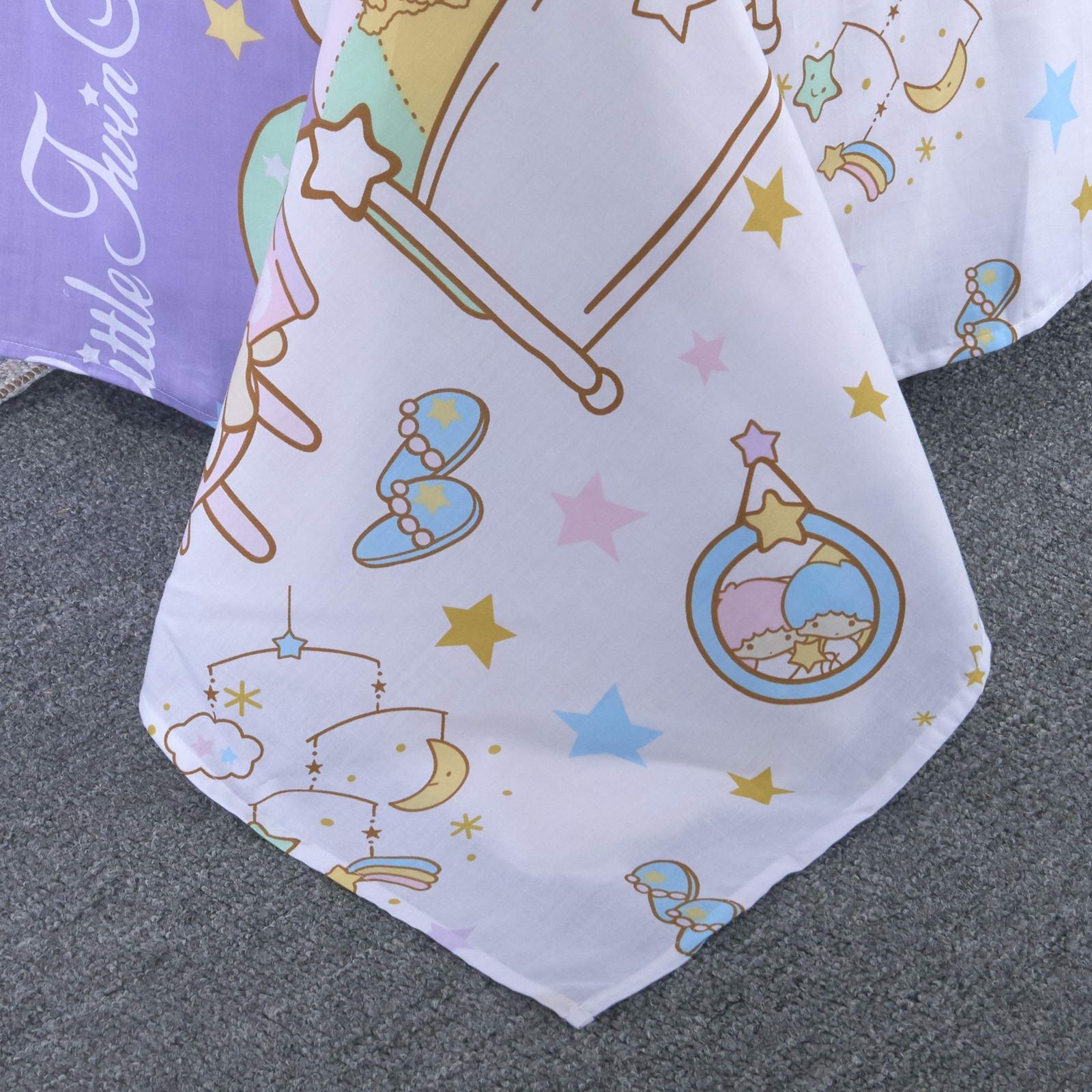 Детский комплект постельного белья Sofi de Marko Малеькие принцессы Дет541 сиреневый 15 сп Sofi de Marko