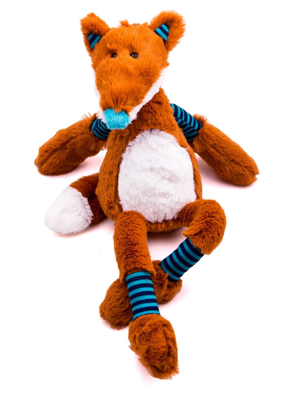 Мягкая игрушка M&R Toy Лис Чарли оранжевый