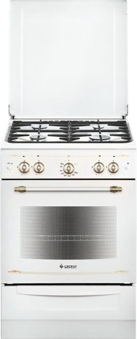 Плита газовая Gefest 6100-02 0185, белый плита газовая gefest 6100 02 0187