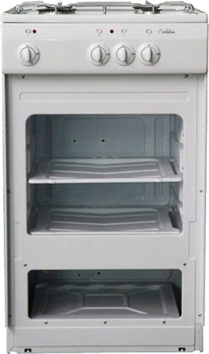 Плита газовая De Luxe 5040.39 г, цвет: белый
