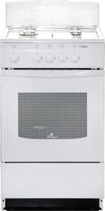 Плита газовая De Luxe 5040.36г(щ) ЧР-001, белый