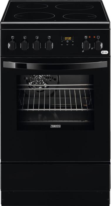 Плита электрическая Zanussi ZCV 9553G1B, черный