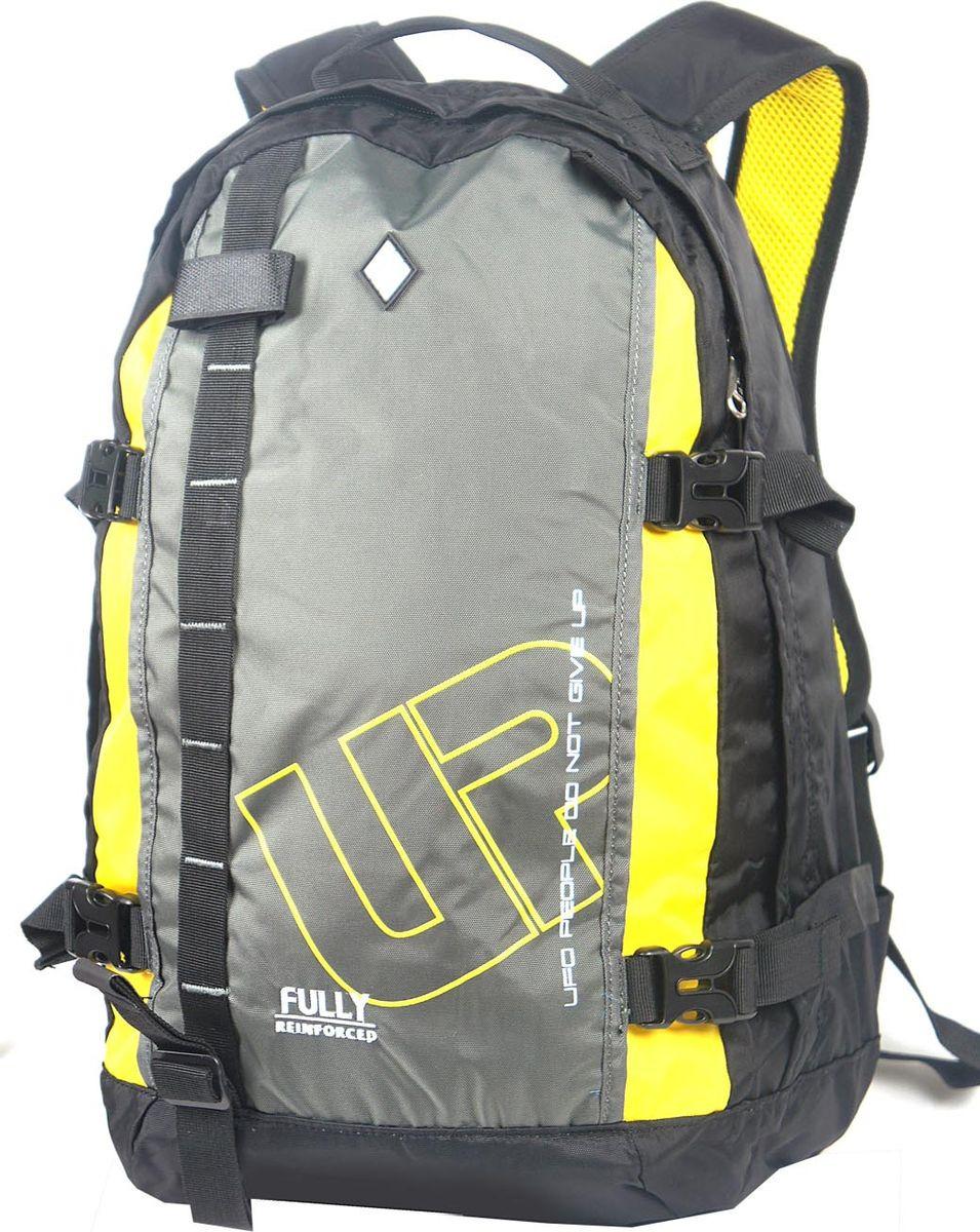 Рюкзак UFO People, цвет: черный, 21 л. 5515