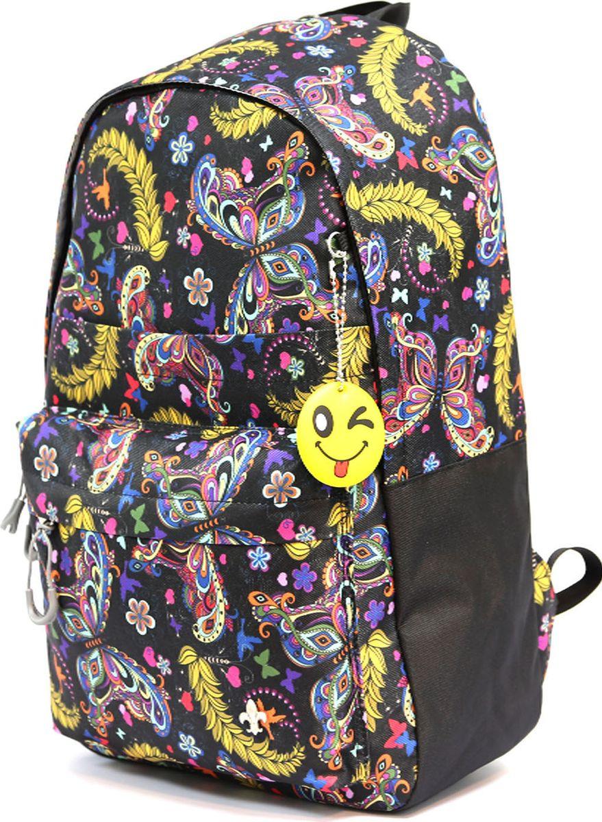 Рюкзак UFO People, цвет: черный, 14,5 л. 7685 рюкзак ufo people цвет бирюзовый 7 5 л 7520