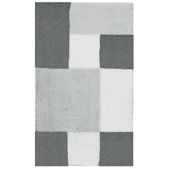 Коврик для ванной Aquanova Zamba, цвет: серый, 60x100 см. ZAMBMM-95
