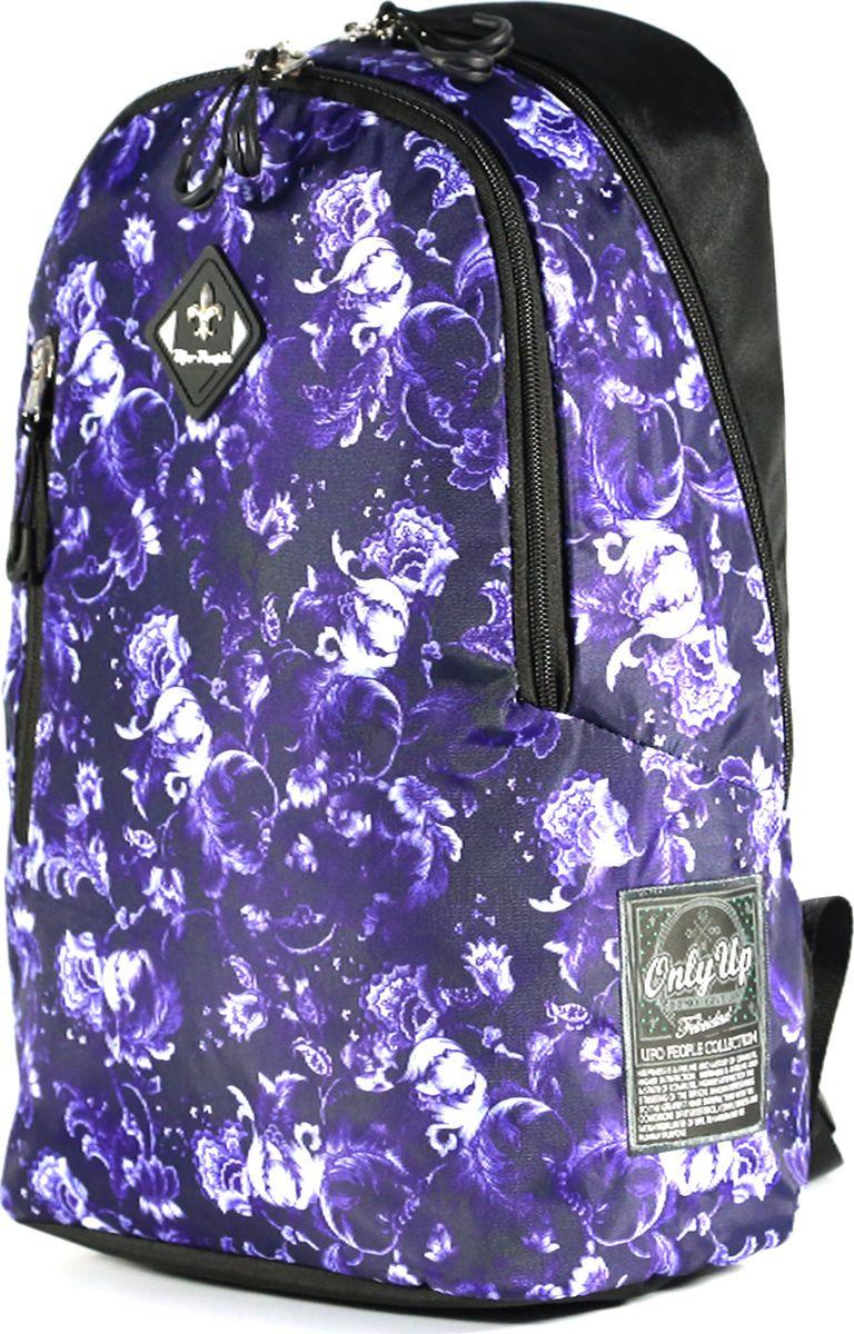 Рюкзак UFO People, цвет: фиолетовый, 16,8 л. 7911 цена и фото