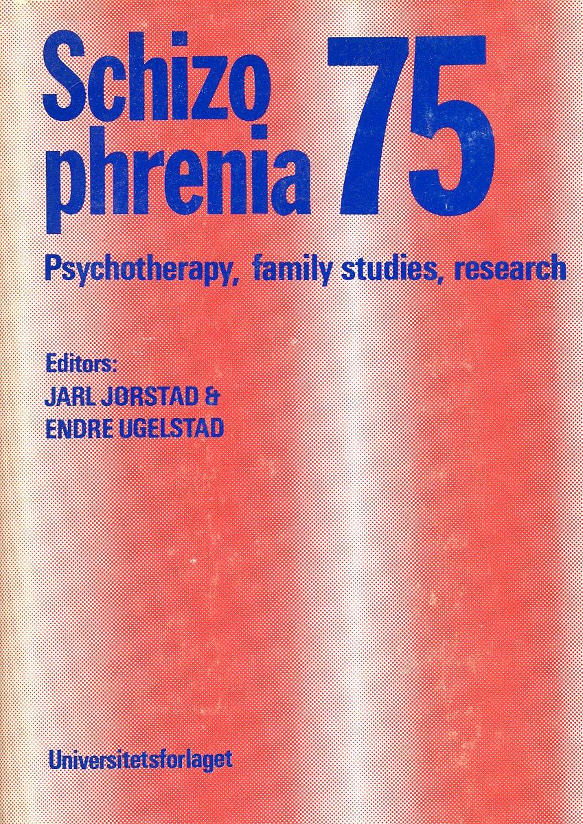 Schizophrenia 75 reconceiving schizophrenia