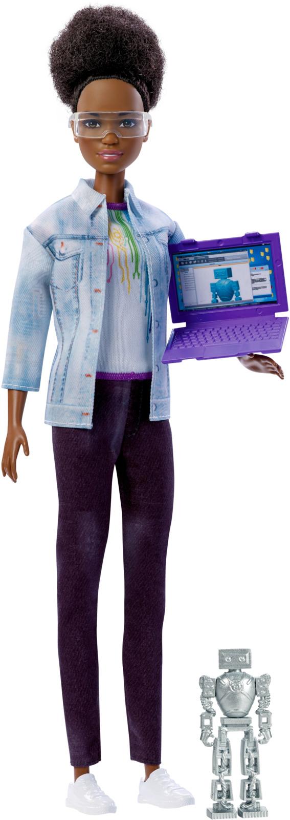 Barbie Игровой набор с куклой Робототехник FRM08