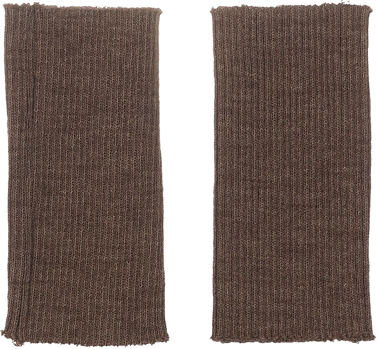 Манжеты Marbet Трикотаж, 14 х 7 см, цвет: коричневый меланж. 112 заплатка marbet самоклеющаяся цвет васильковый 16 х 10 см 123