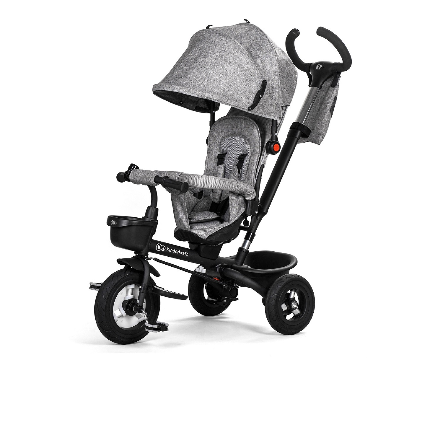 Велосипед Велосипед Kinderkraft Aveo Grey складной Aveo, KKRAVEOGRY0000, серый