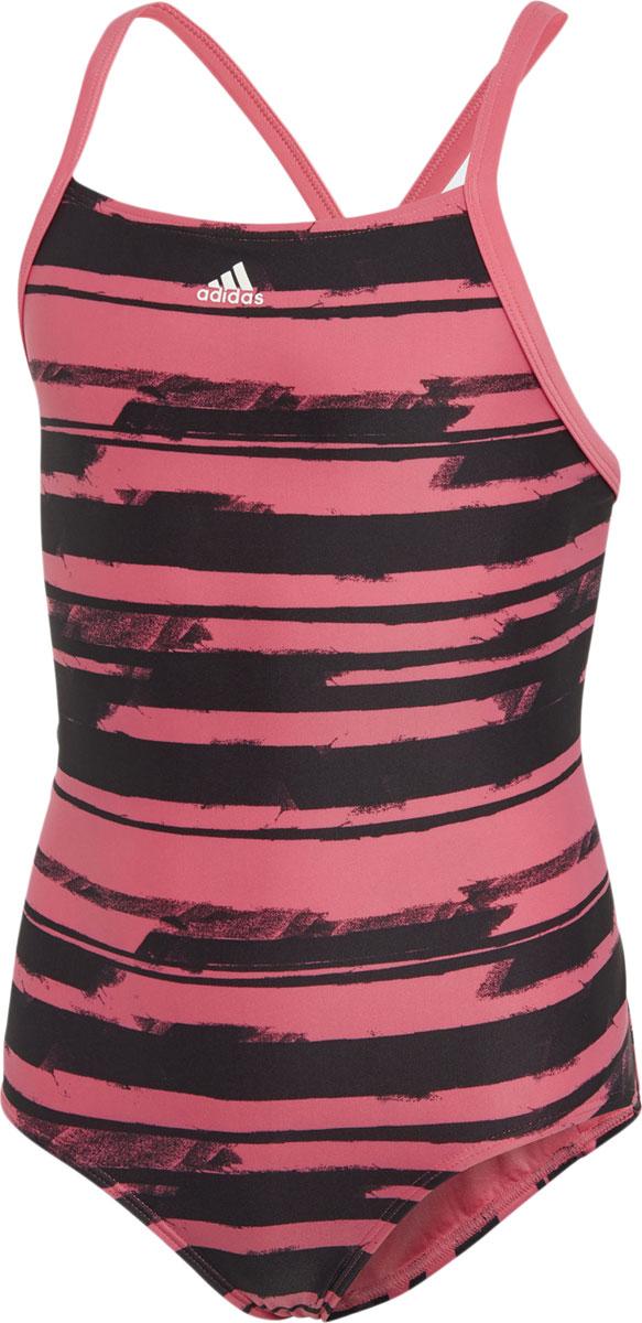 Купальник слитный adidas купальник слитный для девочки adidas yg aop 1pc цвет розовый dl8780 размер 128