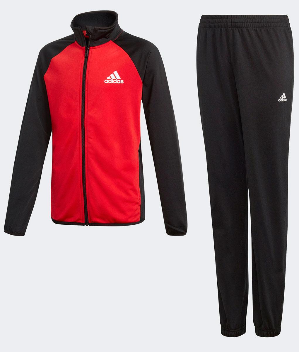Спортивный костюм для мальчика Adidas Yb Ts Entry Ch, цвет: черный. DM1482. Размер 92DM1482