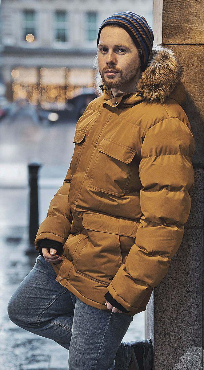Куртка Trespass Baldwin faux shearling hooded coat