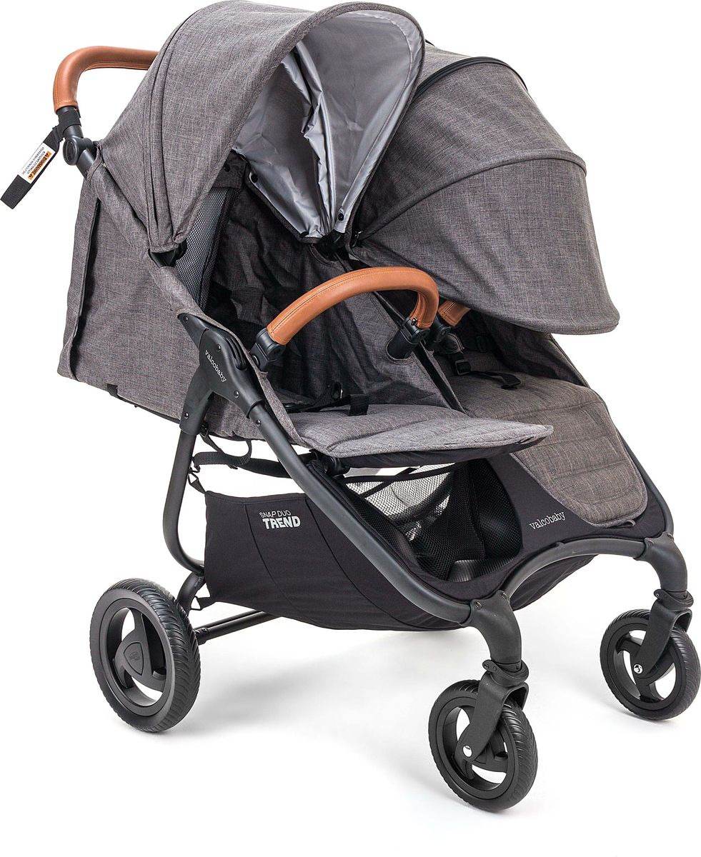 Коляска прогулочная Valco Baby Snap Duo Trend Charcoal