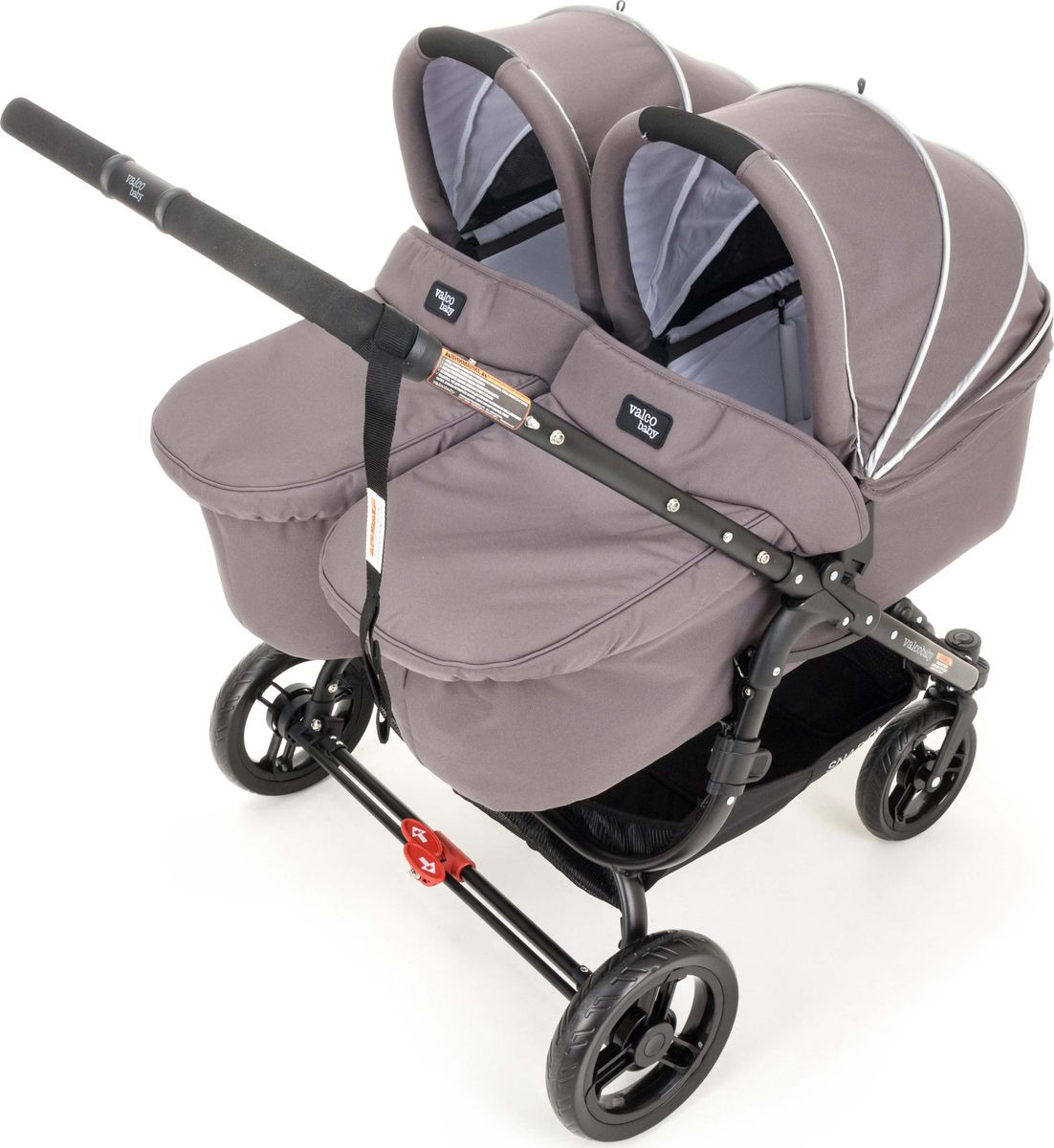 цены на Люлька Valco Baby External Bassinet для Snap Duo Dove Grey  в интернет-магазинах