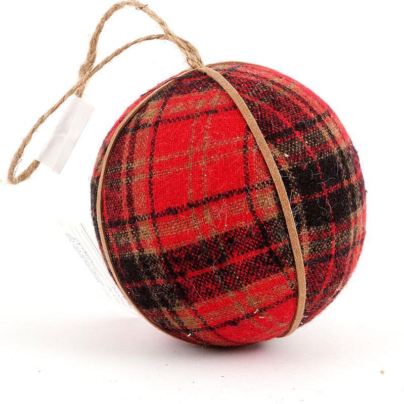 Елочная игрушка Русские Подарки Шар, 10 см. 171609 елочная игрушка красный шар в снежинках стекло роспись ссср 1960 е годы