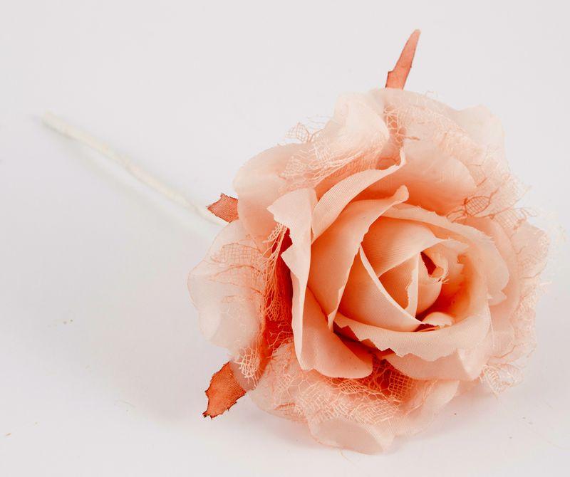 Подвесное украшение Русские Подарки Роза, 9 см. 77985 украшение декоративное русские подарки со стикером 5 см 9 шт
