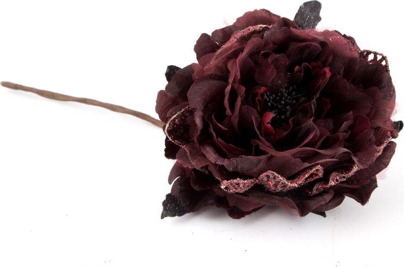"""Подвесное украшение Русские Подарки """"Роза"""", 11 см"""