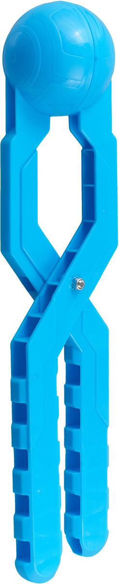 Снежколеп Снежкодел Турбо, 8596, голубой, 36 см игрушка для лепки снежков staleks crystal синяя снежколеп снежкодел