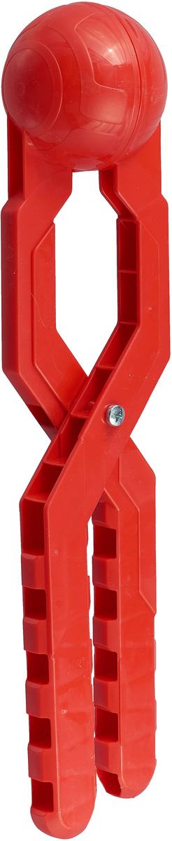 Снежколеп Снежкодел Турбо, 8596, красный, 36 см игрушка для лепки снежков staleks crystal синяя снежколеп снежкодел