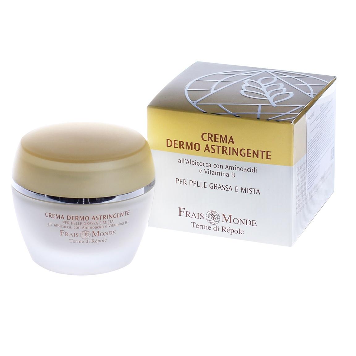 Frais Monde Очищающий дневной крем для лица с натуральными экстрактами (для жирной и смешанной кожи), подходит как основа под макияж, 50 мл