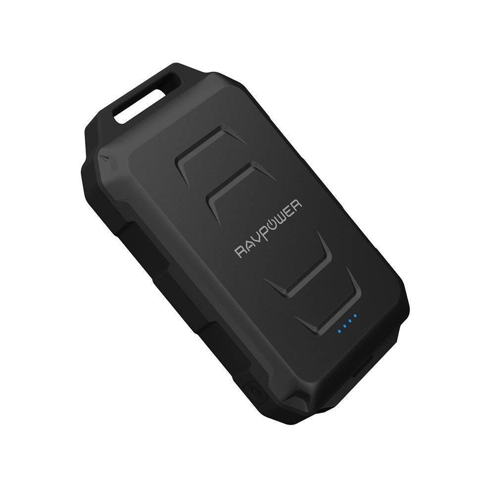 Внешний аккумулятор RavPower 10050 мАч, RP-PB044, черный аккумулятор для автомобиля 60 ампер цена