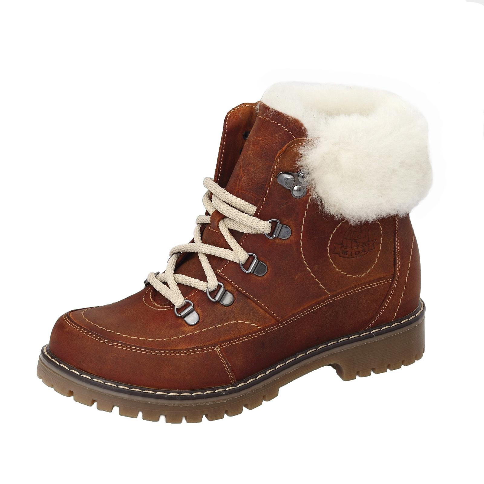 купить Ботинки Mida по цене 3490 рублей