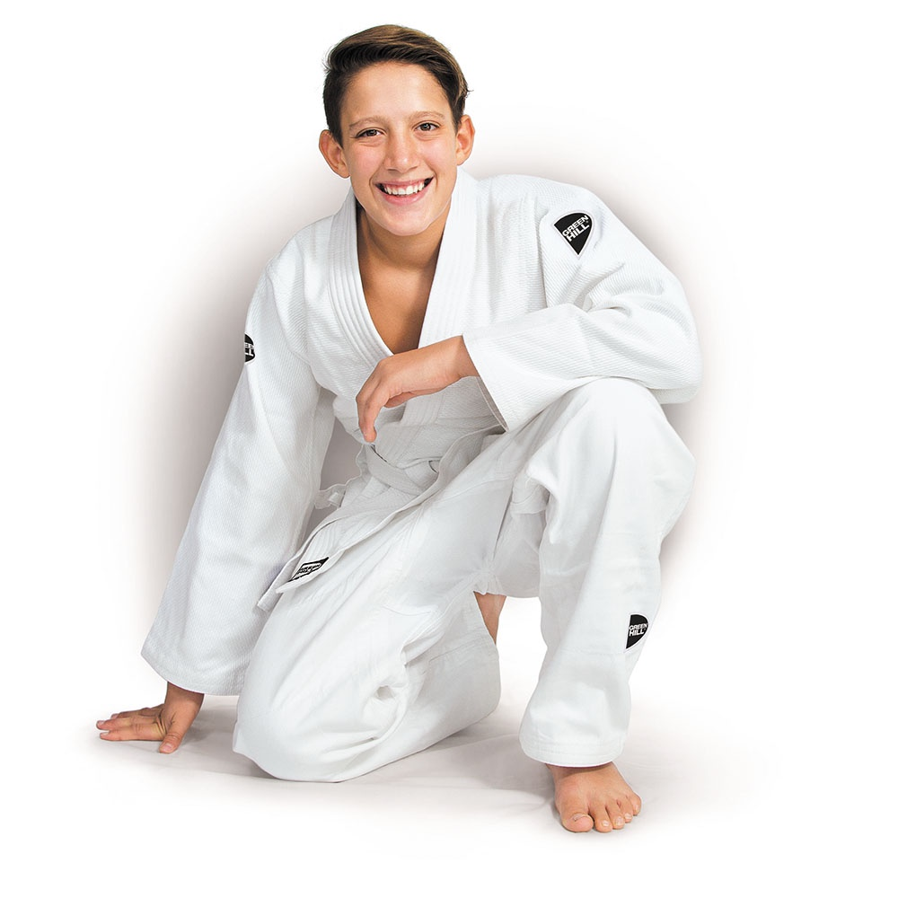 Кимоно для дзюдо Green Hill билл киддо 33 лучших приема дзюдо для защиты от ножа и пистолета