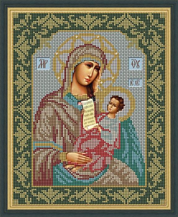 Набор для вышивания Galla Collection Набор для вышивания бисером «Икона Божией Матери Утоли моя печали», 20 x 25 см, И007