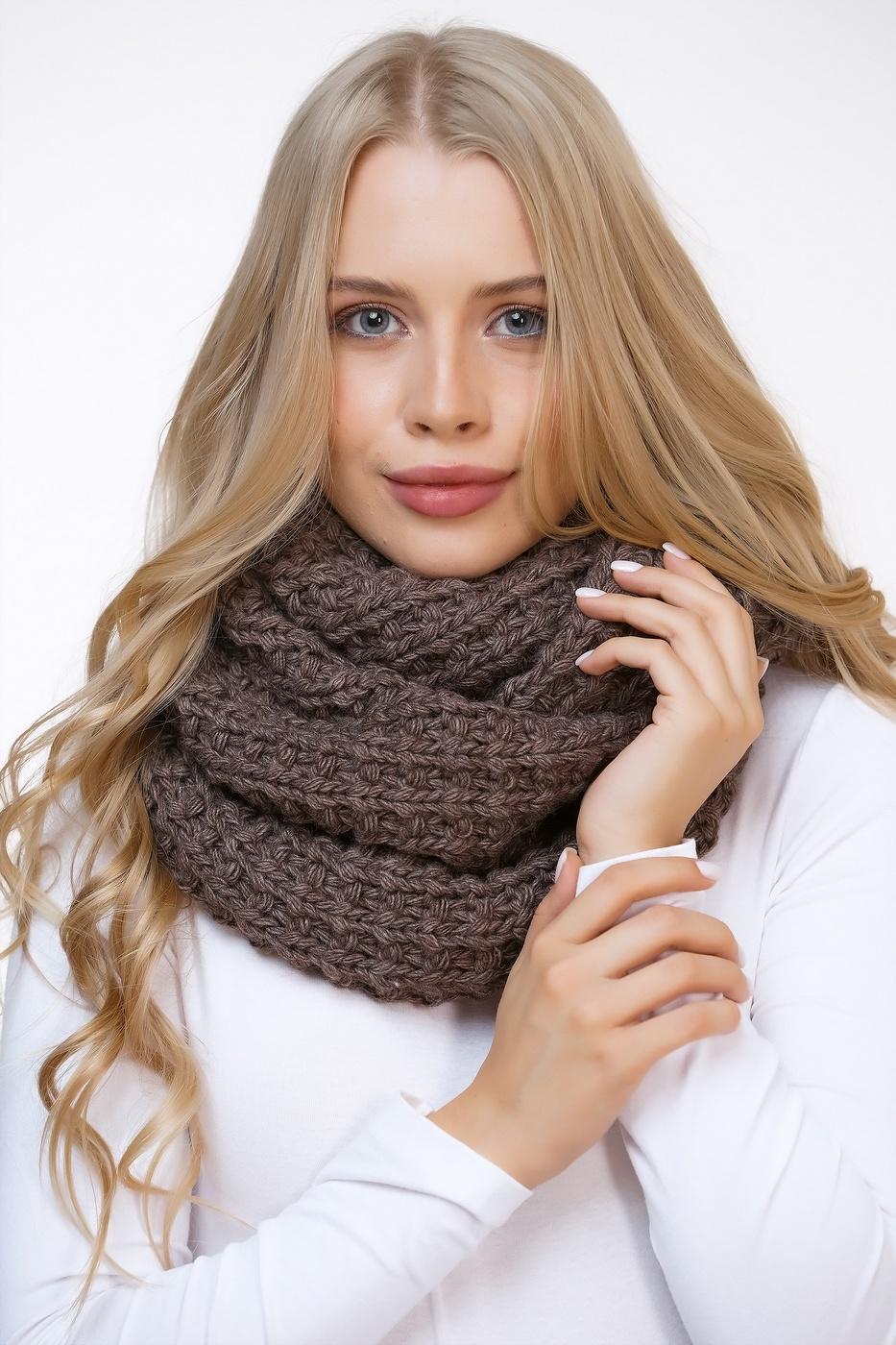 причина шарф снуд спицами картинки одежды ваш