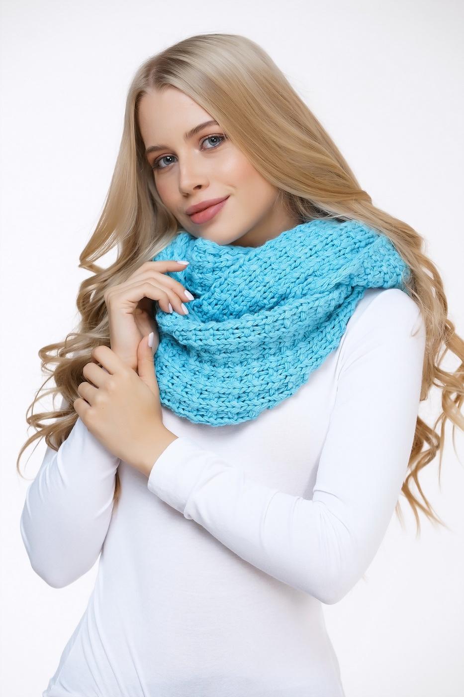 как носить шарф хомут зимой фото своеобразный обмен
