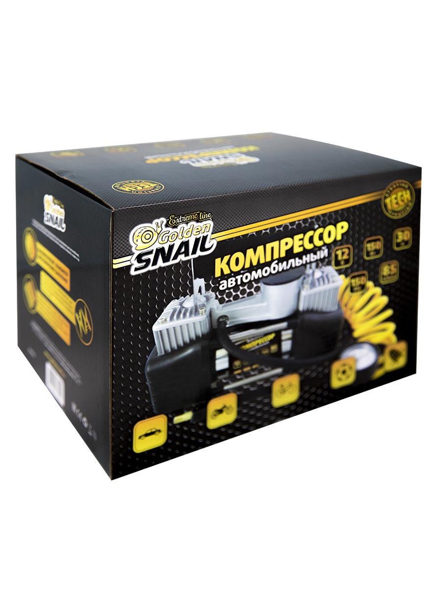 Автомобильный компрессор LUX METALL Golden Snail GS 9213