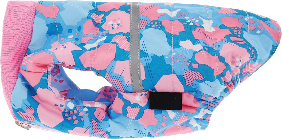 """Жилет для собак """"Gamma"""", 12262018, двухсторонний, розовый, размер M"""