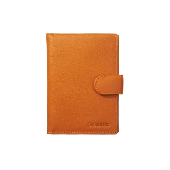 Бумажник водителя A&M, 5448oran, оранжевый