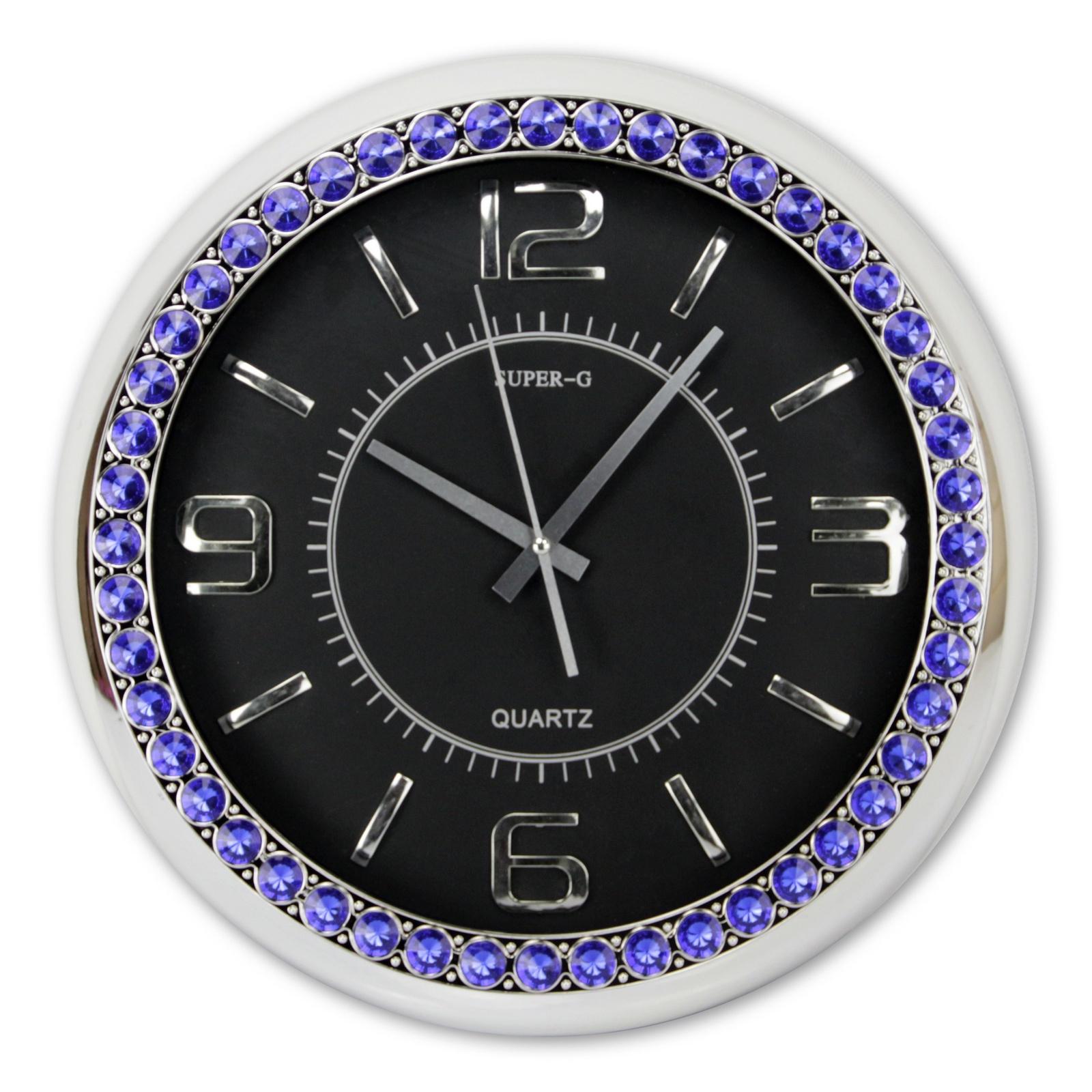 Часы настенные Konstant, 43, черный, 40,5х40,5х6 см43Размер: 40,5х40,5х6см