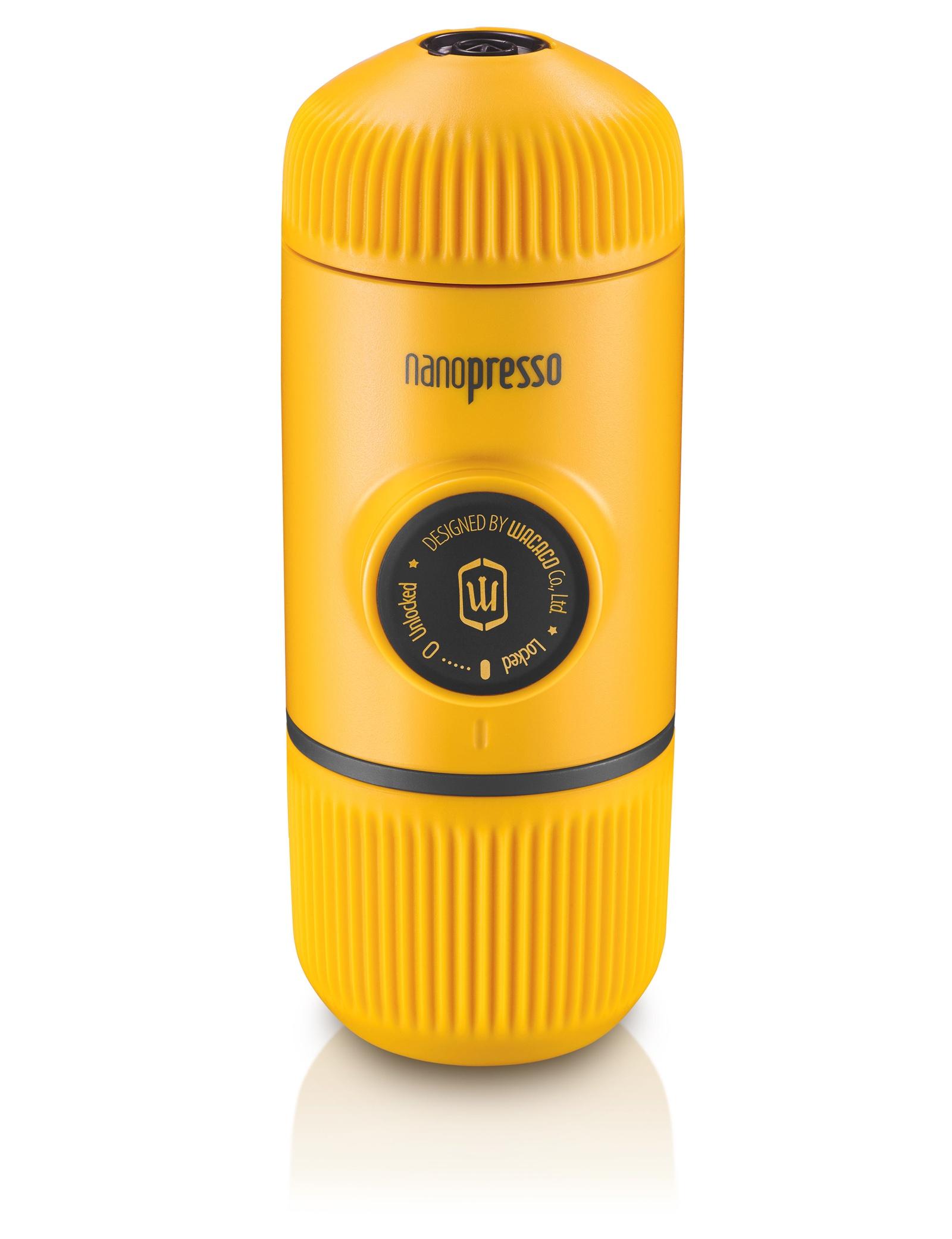 Кофемашина Wacaco Ручная мини-кофемашина (NANOPRESSO-YELLOWPATROL), молотый кофе, желтый