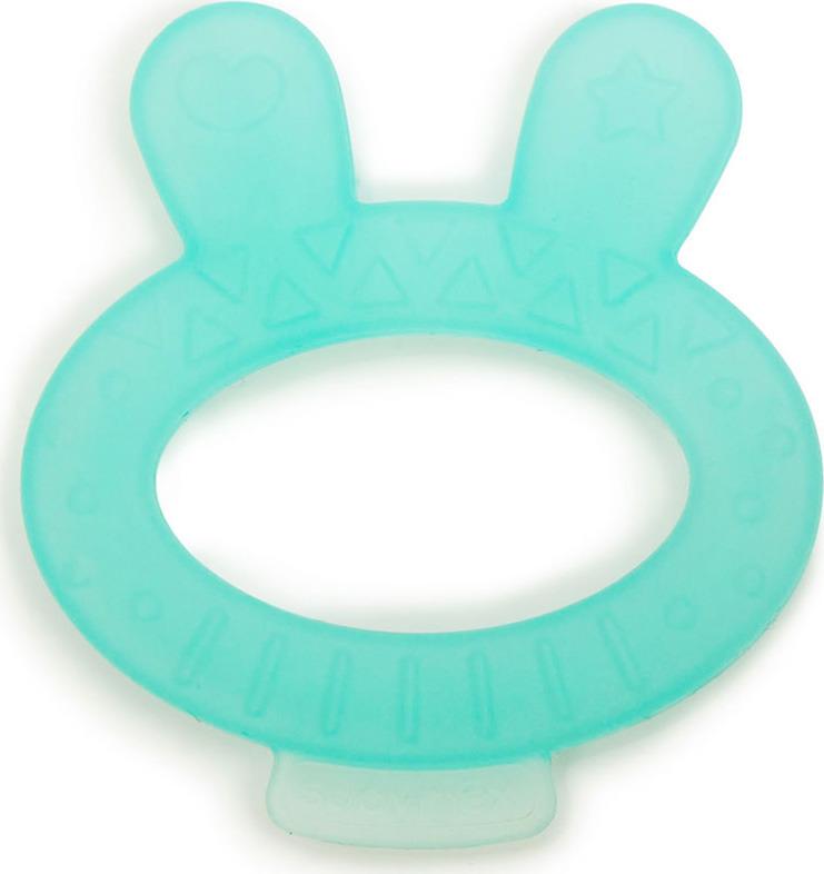 Прорезыватель Suavinex, Кролик, от 0 месецев, цвет: голубой прорезыватель водный с погремушкой canpol лапка 0 мес арт 56 136 цвет голубой