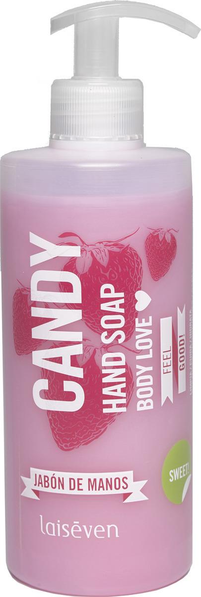 Фото - Мыло для рук Laiseven Body Love Candy, 400 мл. жидкое мыло laiseven лесные ягоды 400 мл