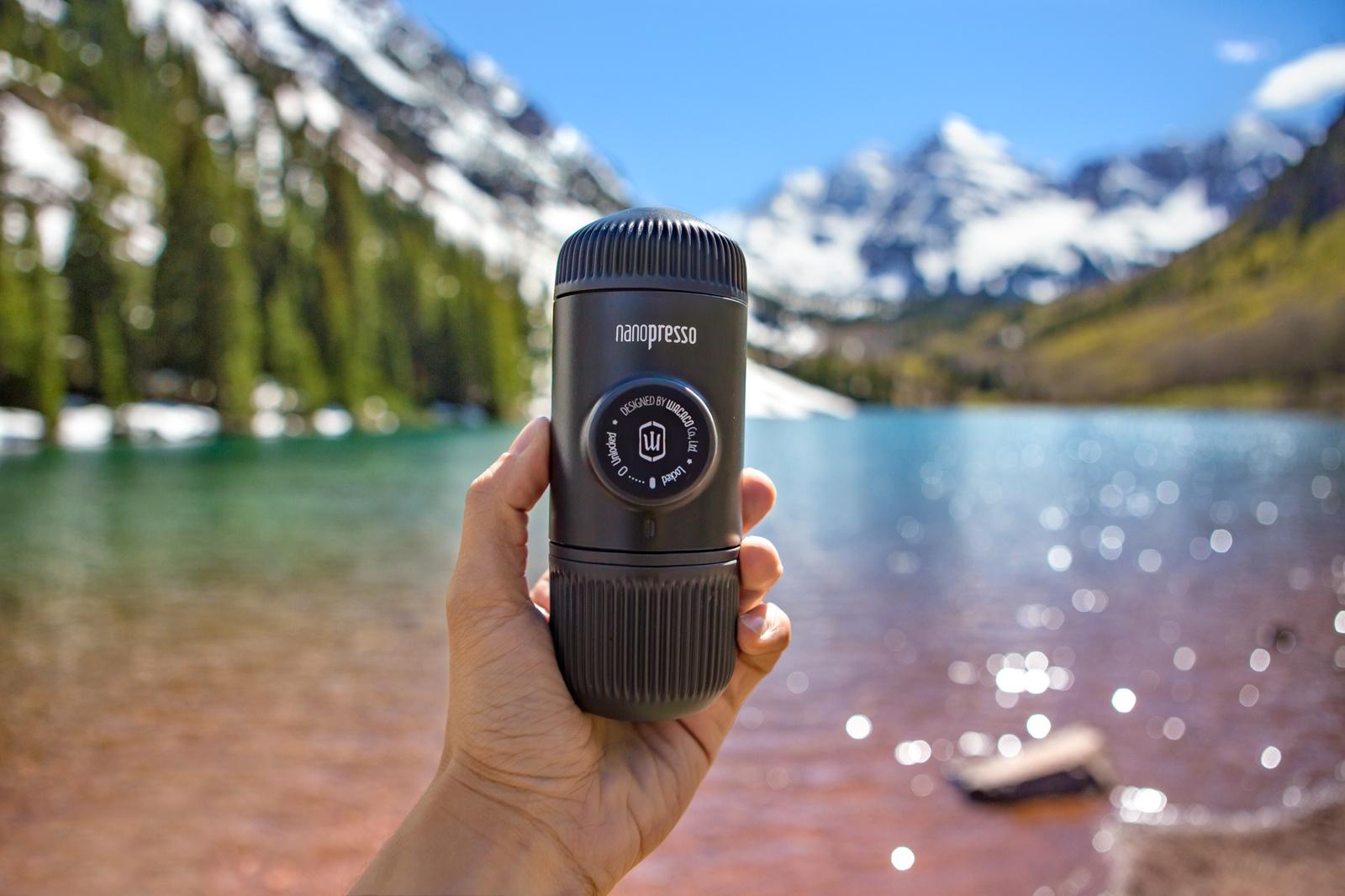 Ручная мини-кофемашина Nanopresso Black WACACO WCCN80 Wacaco