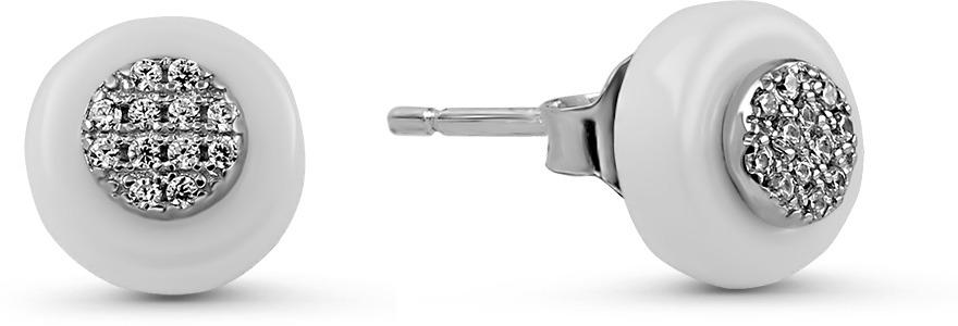 Серьги Серебро России из серебра (9691)