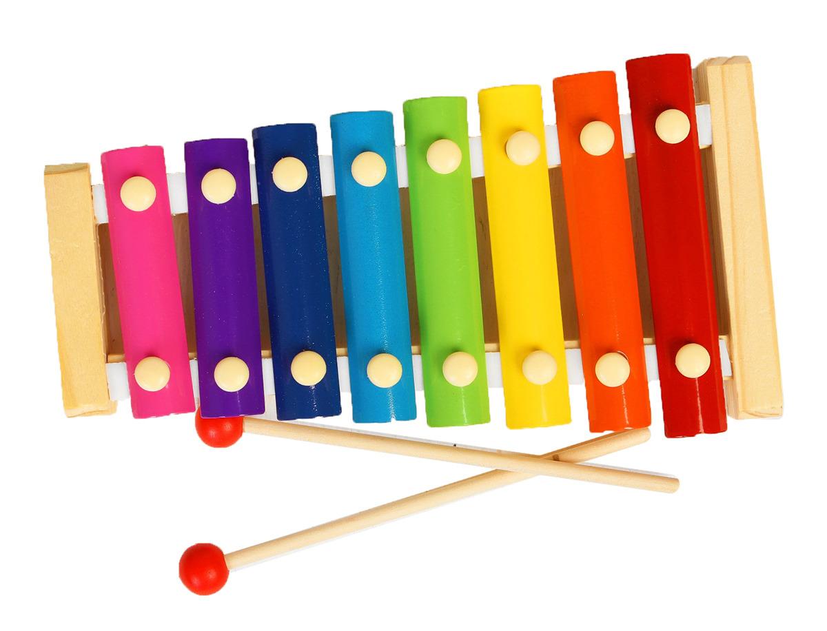 Музыкальная игрушка Лесная мастерская Металлофон 454310 игрушка лесная мастерская изучаем цвета и фигуры 465208