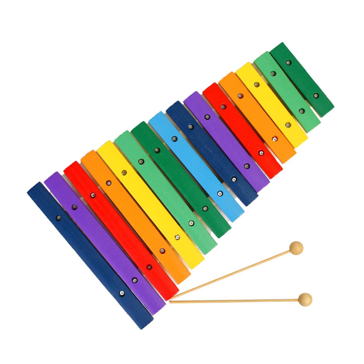 Музыкальная игрушка Лесная мастерская Ксилофон 454306 lamaze музыкальная игра лев логан звук мелодия lamaze